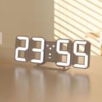 [R] 29CM Pure Mini LED Wall Clock #White