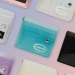 [R] ALMOSTBLUE Twinkle Jelly Wallet 1ea