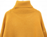 [R] COMMON UNIQUE 7 Color Very Turtle Neck Knit 1ea