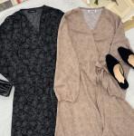 [R] HOTPING Dot Long Dress 1ea