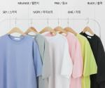 [R] J STYLE RESEK Basic T-shirt 1ea