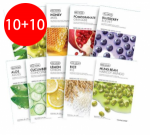 THE FACE SHOP Real Nature Mask Sheet 10ea+10ea