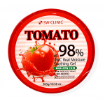[SALE] 3W CLINIC Tomato Real Moisture Soothing Gel 98% 300g