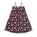 [R] Esther Bunny x Ullala  sleeveless shirt one-piece black Free Size 1ea