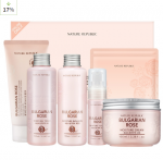 NATURE REPUBLIC Bulgarian Rose Skin Care Special Set (155ml+155m +35ml+100ml+120ml+20ml*2ea)