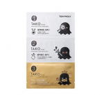 TONYMOLY Tako Pore Gold King 3 Step Nose Pack 3g