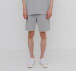 [R] AECA WHITE Finest Cotton Shorts Grey 1ea