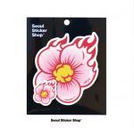 [R] SEOUL STICKER SHOP [Gungho] Fire Flowers 1ea