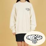 [R] OH MY POSEGANCH Logo Sweat Shirts 1ea
