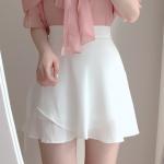 [R] SOMEDAYS Sweet Wrap Skirt Pants 1ea