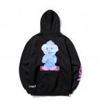 [R] MAHAGRID Doggy Toy Hoodie Black 1ea