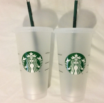 [R] STAR BUCKS Reusable Tumbler Venti 1+1