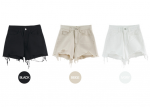 [R] HE.NIQUE Cotton Short Pants 1ea