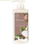 THE FACE SHOP Milk & Shea Butter Body Oil Lotion 300ml