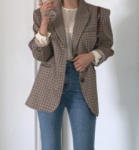 [R] Check Jacket 1ea