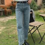 [R] Semi Denim Pants 1ea