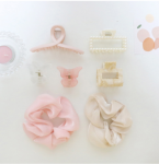 [R] BLING MOON Hair Accessory Set 1set