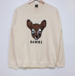 [R] REALLY-YA Bambi Sweat Shirts 1ea