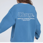 [R] URBANAGE Outline Logo Over T Shirts 1ea