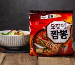 [F] NongShim Squid Jjamppong Noodle 124g*5ea