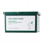 [NATURE REPUBLIC] Green Derma Mild Cica Daily Mask Sheet 30ea 350ml
