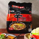 [F] NongShim Shin Ramen Black Noodle 134g*4ea