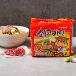 [F] SamYang Beef Noodle 120g*5ea