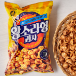 [F] NO BRAND Seashell Shaped Snack 200g