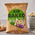 [F] LOTTE Air Baked Pop Chip Camembert Cheese 65g