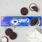 [F] OREO White Cream Sandwich Cookie 100g