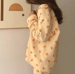 [R] JUUNEEDU Orange Pajama 1set