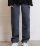 [R] MIXXMIX HIDE Out Pocket Denim Pants Grey 1ea