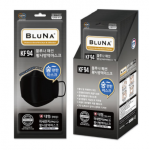 [R] BLUNA Easy Breath KF-94 Black Mask 30ea