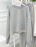 [R] MEJIWOO Become Made Slit Sweater 1ea