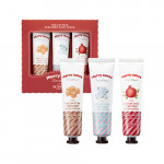 SKINFOOD Merry Sweet Shea Butter Perfumed Hand Cream Set(holiday edition)