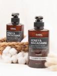 [R] KUNDAL Honey&Macadamia Hydro-Intensive Protein Premium Nature Shampoo (WHITE MUSK) 500ml