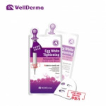 (50% sale event)) WELLDERMA Egg White Tightening Ampoule Mask 25ml(10pcs/box)