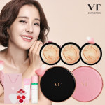 [W] VT Black Collagen Pact Rose Edition Set