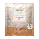 ETUDE HOUSE 24K Gold Therapy Red Ginseng Firming Mask 32g