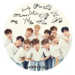 [W] WANNA ONE GOODS Hand Mirror