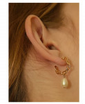 [R] W CONCEPT KINDABABY Earring Gold
