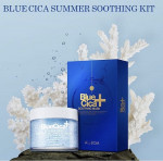 [R] A BY BOM Blue cica soothing mask 10ea + blue cica azulene dew soothing hydration cream 100ml