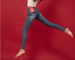 [W] CHUU Super Slim Jeans