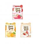 [Namyang] Aikkoya  Freezing Dry  Snack 3 Flavor 12g*4ea (Strawberry/Tangerine/Apple)