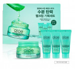 HOLIKAHOLIKA Aloe Soothing Essence 80% Moist Firming Gel Cream Set