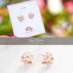 [R] WING BLING Lua Garden Earrings 1ea
