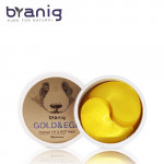 BRANIG Gold&Egf Hydrogel Eye&Spot Patch 90g/60sheets