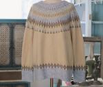 [R] MILKCOCOA Nordic Girlish Knit 1ea