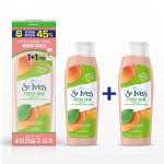 [Online Shop] ST.IVES Apricot Exfoliating Body Wash 400ml*2ea