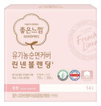 [Online Shop] GOODFEEL Organic Cotton Cover Linen Sanitary Pad (Ultra Slim Wing - Medium) 14p*2ea